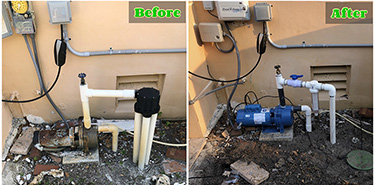 Before and After Smart Irrigation