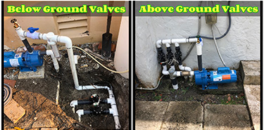 Above and Below Ground Valves