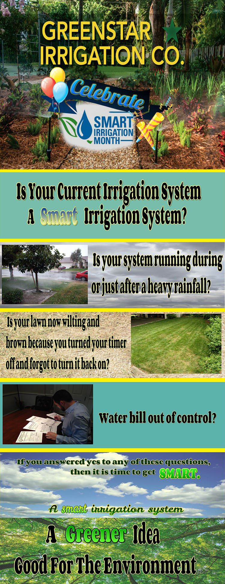 Smart irrigation from Greenstar Landscaping